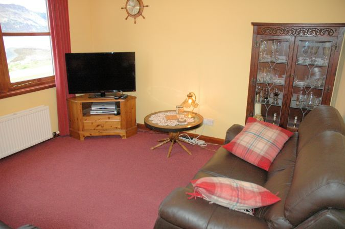 The lounge/sitting room in Tarlogie is comfortable and well appointed.